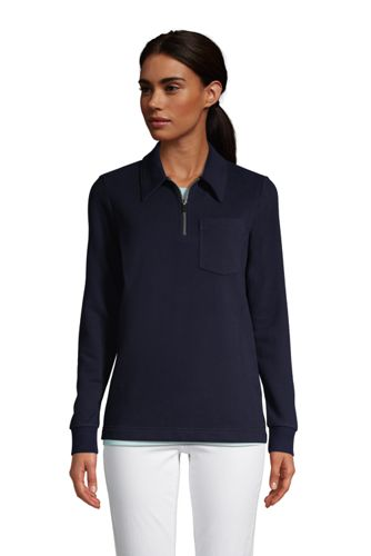 Sweatshirt Serious Sweats Demi-Zip, Femme Stature Standard