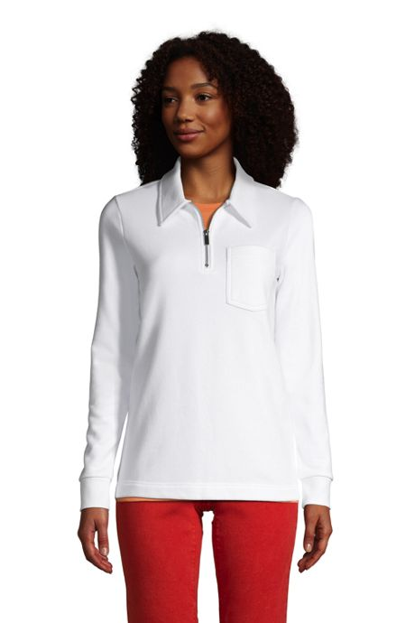 Women's Long Sleeve Serious Sweats Quarter Zip Sweatshirt