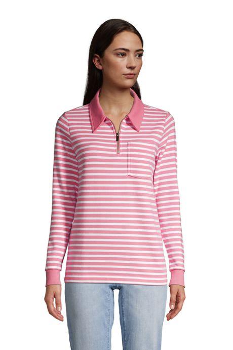 Women's Long Sleeve Serious Sweats Quarter Zip Sweatshirt