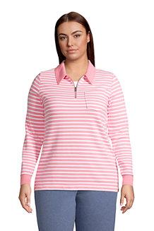 Sweatshirt mit Zipper SERIOUS SWEATS für Damen