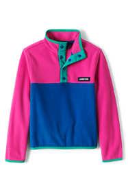 Kids Fleece Snap Neck Pullover