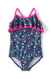 Girls' Ruffle Swimsuit