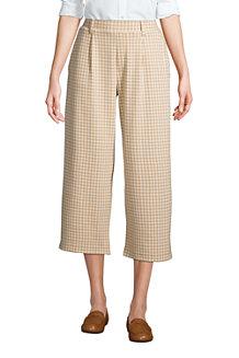 Pantacourt Large Sport Knit, Femme