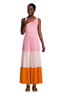 Women's Sleeveless Tiered Maxi Dress