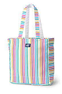 Sac de Plage Repliable en Coton Canvas