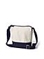 Canvas Cross Body Bucket Bag