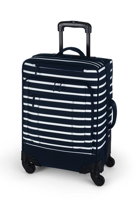 Travel Printed Carry On Rolling Luggage Bag