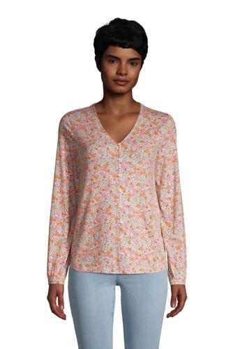 Bluse aus Baumwoll/Modalmix für Damen