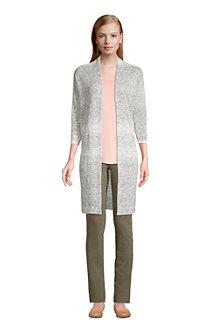 Women's Cotton Blend Open Cardigan