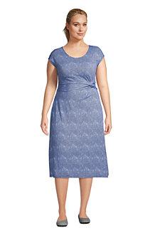 Jersey-Wickelkleid für Damen