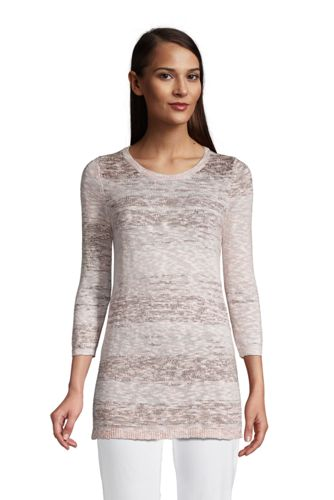 Pullover aus Baumwollmix für Damen in Petite-Größe