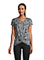 T-Shirt Performance Ourlet Twisté, Femme Stature Standard