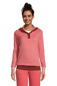 Women's Serious Sweats Button Hoodie
