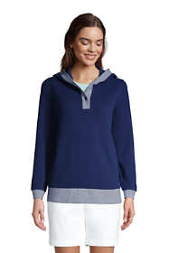Women's Long Sleeve Serious Sweats Button Hoodie