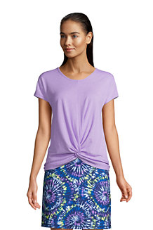 Women's Moisture Wicking UPF Twist Hem Top