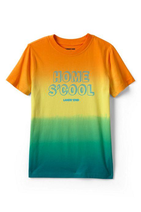 Kids Husky Graphic Tie Dye Tee