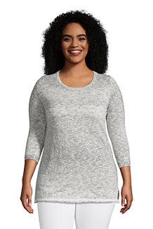 Women's Cotton Blend Boatneck Sweater
