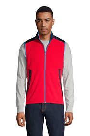 Men's Mix Media Fleece Vest