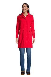 Regenmantel mit Kapuze für Damen