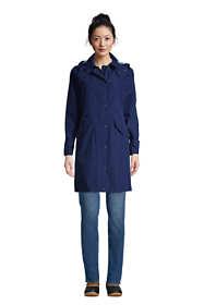 Women's Hooded Raincoat