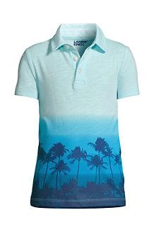 Boys' Slub Jersey Polo Shirt
