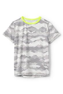 Gemustertes Performance T-Shirt für Jungen