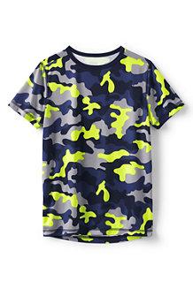 T-Shirt Sport à Manches Courtes et Motifs, Garçon