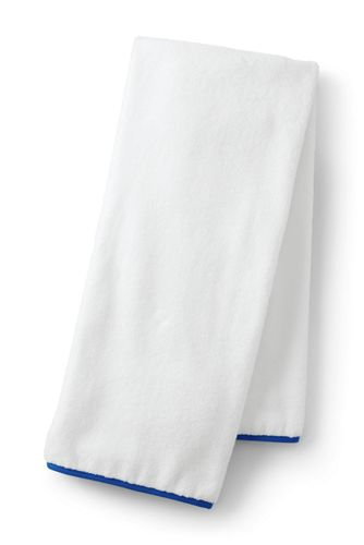 Essential Cotton Banded Bath Towel
