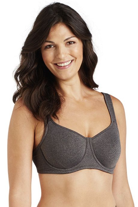 Ellen Tracy Women's Active Movement Unlined Sports Bra