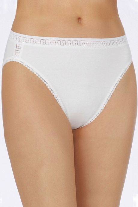 On Gossamer Women's Cotton Hi Cut Brief Underwear