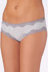 Saint Eve Women's Lace Trimmed Hipster Underwear