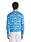 メンズ・スプリング・グラフィック・セーター/ヨット/長袖