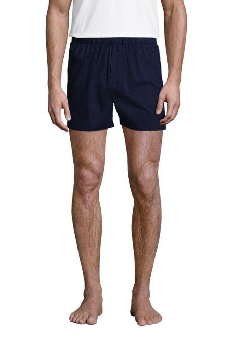 Men's Broadcloth Boxers 3 Pack