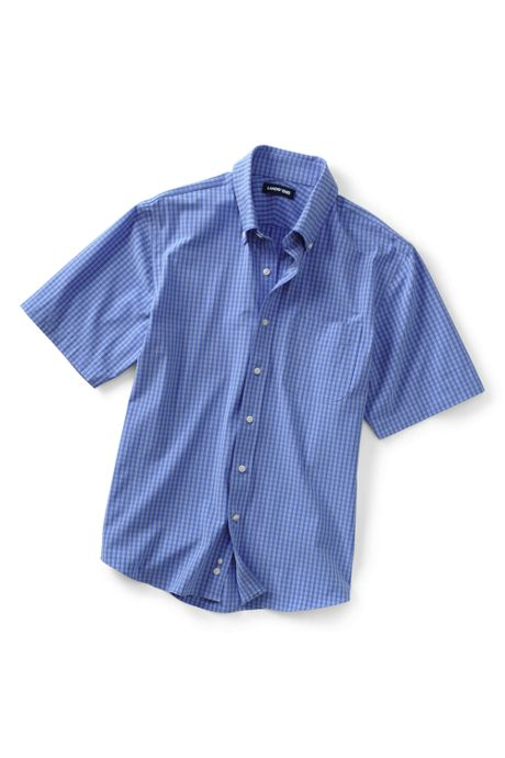 Men's Short Sleeve Traditional Fit Stretch Commuter Shirt