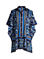 Women's Cotton Poplin Kaftan Cover Up Shirt Dress