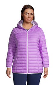 Women's Plus Size Recycled ThermoPlume Hooded Jacket