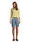 Women's Mid Rise 10'' Chambray Bermuda Shorts