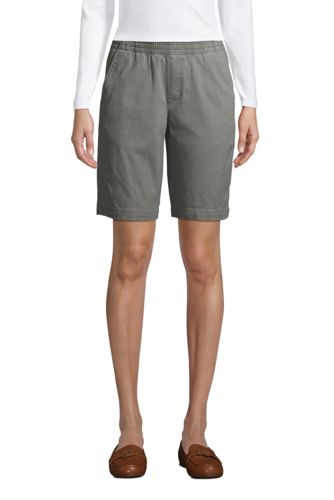 Women's Mid Rise 10'' Chino Bermuda Shorts