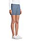 Short en Chambray Stretch Taille Élastiquée, Femme Stature Standard