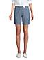 Chino-Shorts mit Dehnbund CHAMBRAY, 18 cm für Damen