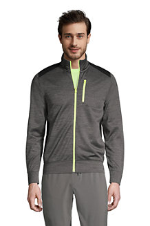 Men's Performance Full Zip Fleece Jacket