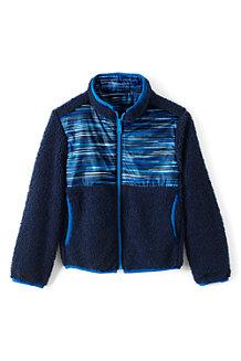 Kids' Reversible Fleece Jacket