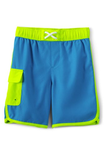 Boys' Cargo Swim Shorts
