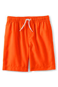 Boys Husky Solid Swim Trunks