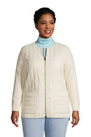 Women's Plus Size Recycled Reversible Insulated Jacket