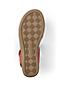 Sandale Confort à Talon Compensé, Femme Pied Large