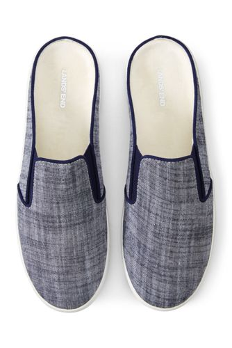Mules Textiles, Femme Pied Standard