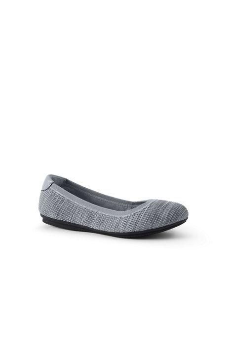 Women's Knit Comfort Elastic Ballet Flat Shoes