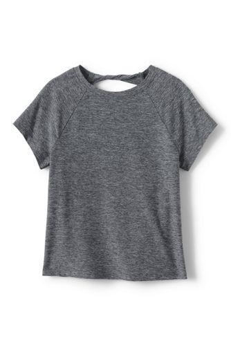 T-Shirt Sport à Manches Courtes, Fille