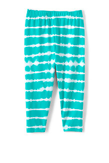 Girls' Tough Cotton Capri Leggings